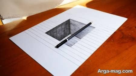 نقاشی سه بعدی با طرحی جذاب