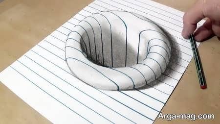 نقاشی سه بعدی با طرحی فوق العاده