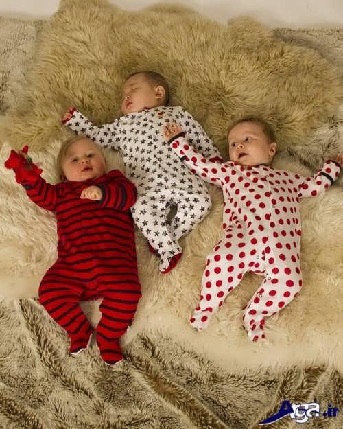 مدل لباس سرهمی نوزاد پسرانه با طرح های فانتزی و شیک
