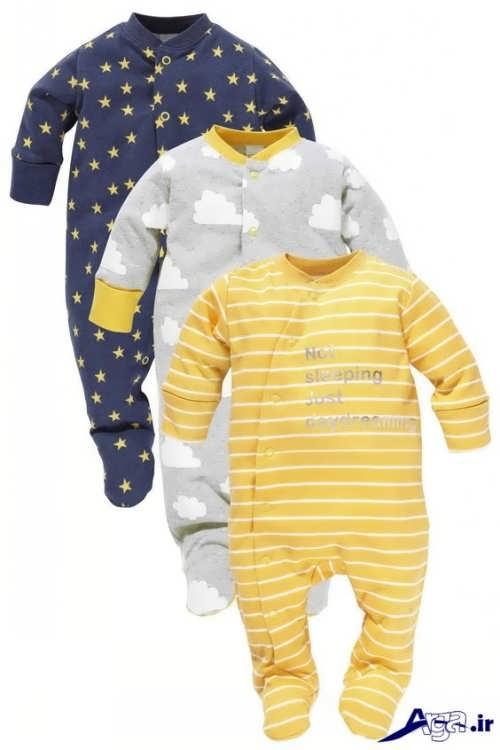 لباس نوزاد سرهمی با طرح های زیبا و شیک