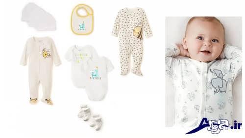 مدل های شیک و زیبا لبس نوزاد سرهمی