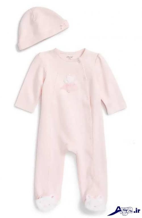 مدل لباس سرهمی نوزاد دخترانه