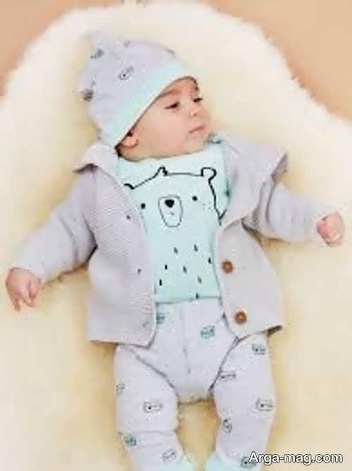 لباس بچگانه پسرانه برای نوزاد