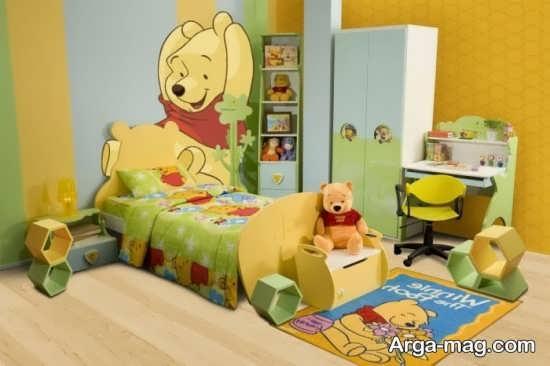 سرویس خواب کودک با طرح انیمیشنی دوست داشتنی