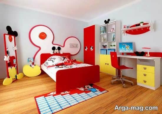 سرویس خواب کودک با طرح انیمیشنی جالب