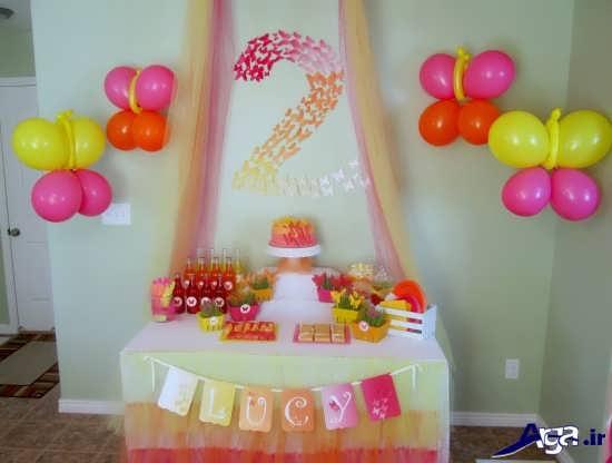 تزیین جشن تولد با بادکنک
