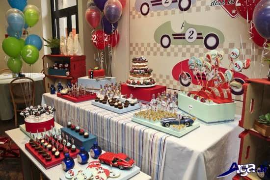 تزیینات میز جشن تولد