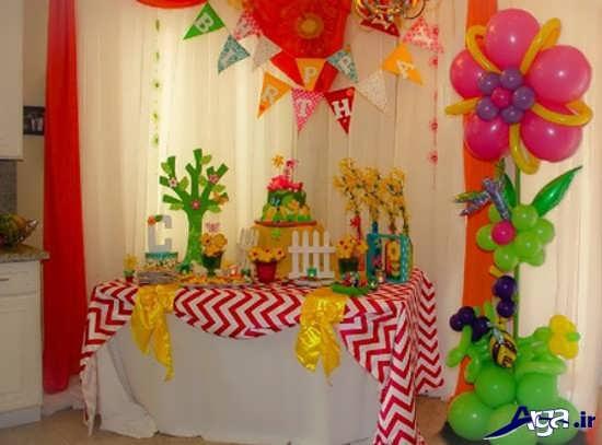 تزیین وسایل جشن تولد