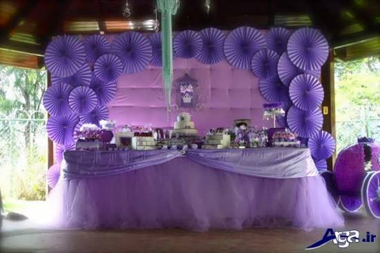 تزیین جشن تولد شیک و بسیار زیبا