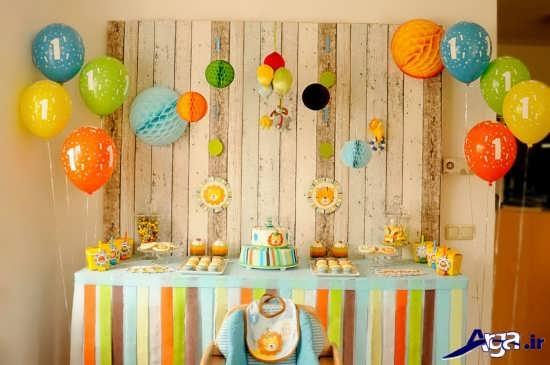 تزیین زیبای جشن تولد