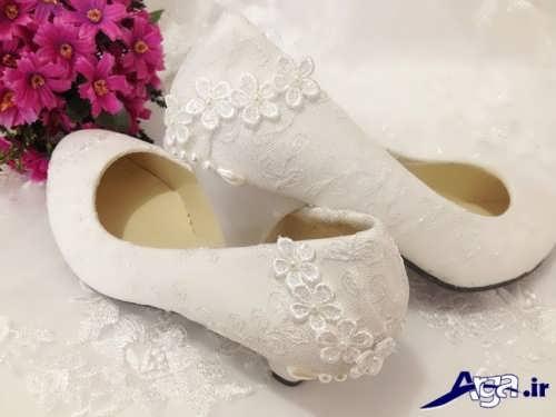 کفش عروس زیبا و شیک