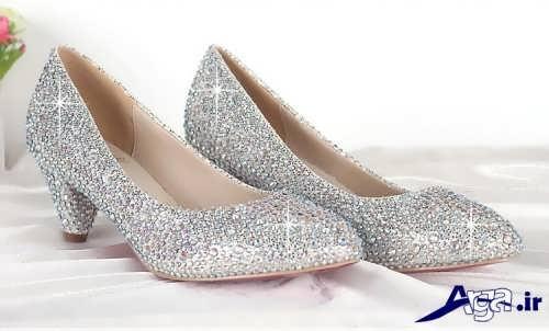 مدل کفش عروس با طرح زیبا و جدید