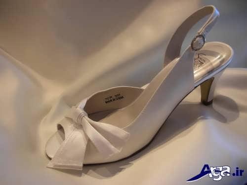 مدل کفش عروس با طرح شیک و مجلسی