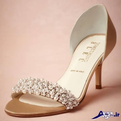 مدل کفش عروس با طرح شیک و زیبا مد سال