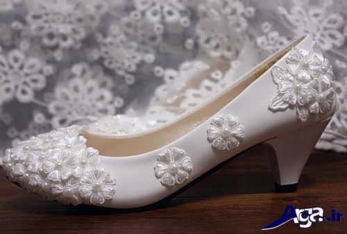 مدل کفش عروس با طرح زیبا و شیک