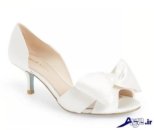 مدل کفش عروس جلوباز