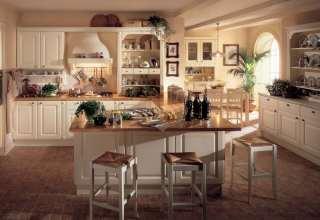 دکوراسیون آشپزخانه کلاسیک با چیدمان زیبا و متفاوت