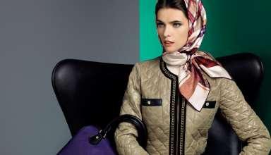 مدل بستن روسری ساده با طرح های مختلف