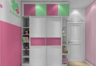 مدل کمد دیواری اتاق کودک با طرح های فانتزی و جدید