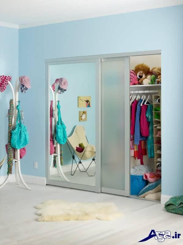 مدل های کمد دیواری اتاق کودک با طرح های زیبا و دوست داشتنی