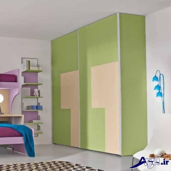 کمد دیواری اتاق کودک با طرح های دوست داشتنی