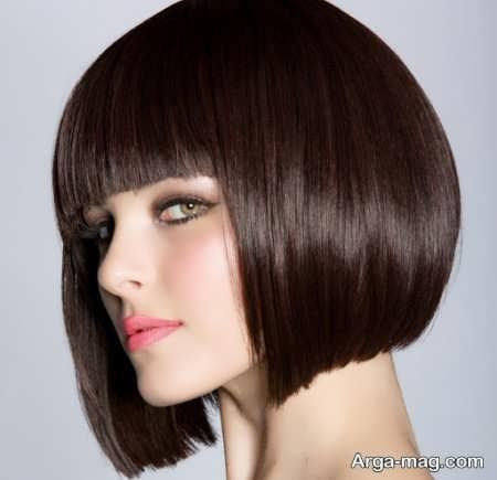 رنگ موی کاکائویی زیبا
