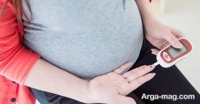 نشانه های دیابت بارداری