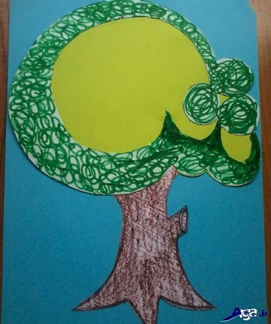 کاردستی با کاغذ رنگی برای کودکان