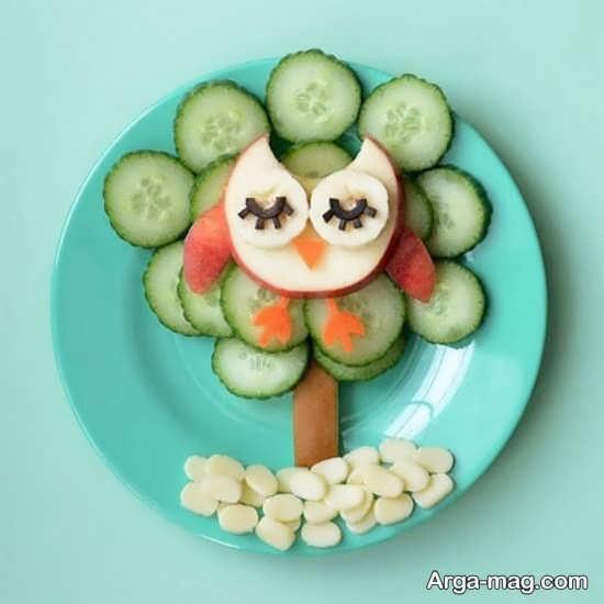 تزیین و میوه آرایی خیار