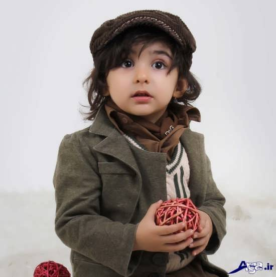 عکس پسر بچه ناز و زیبا