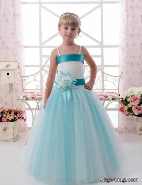 قشنگ ترین مدل لباس مجلسی دکلته