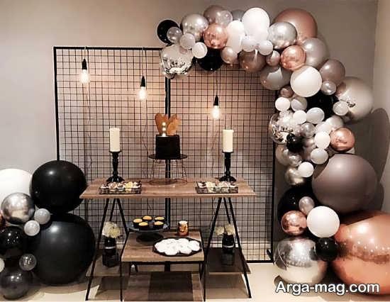 تزیین جشن تولد لاکچری