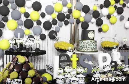 تزیینات لوکس جشن تولد