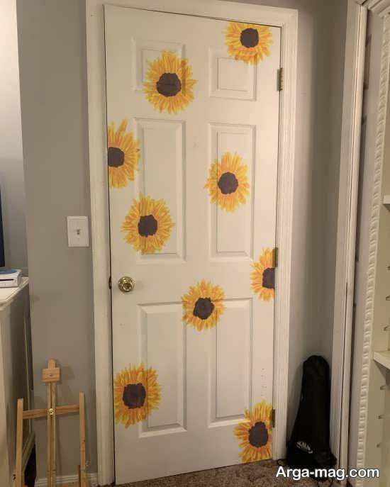 دیزاین ایده آل درب اتاق