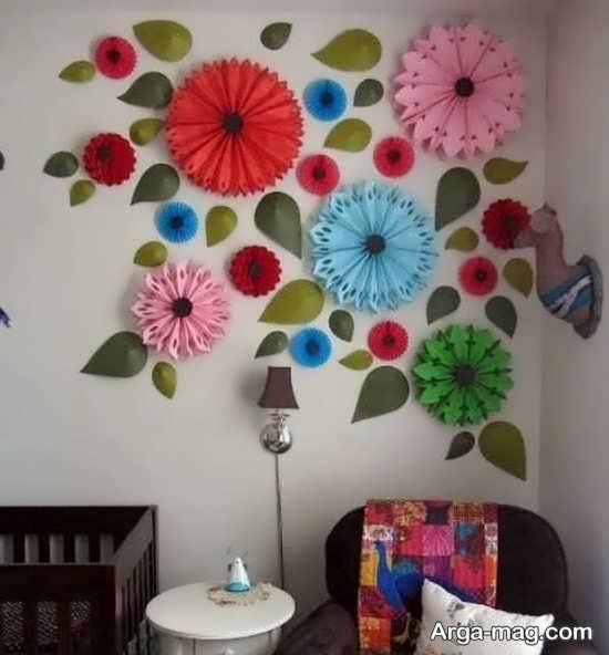 تصاویری از تزیینات دیوار با پارچه