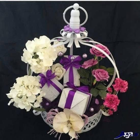 تزیین هدایا برای بله برون عروس