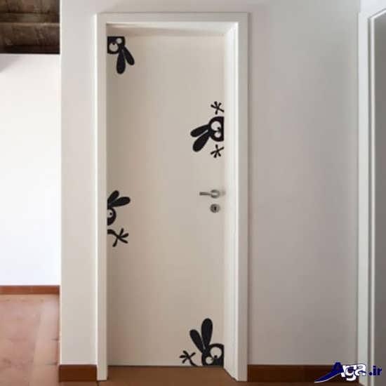 مدل استیکر برای درب اتاق ها