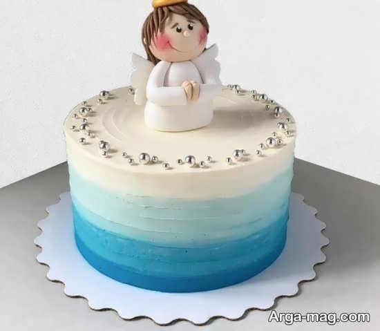 تم دخترانه برای تزیین کیک جشن بندگی