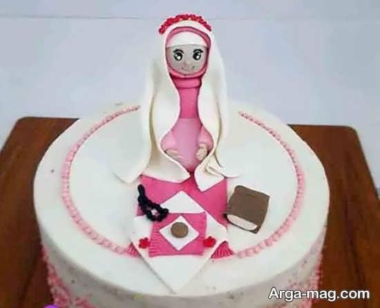 تزیین کیک بندگی در مدل های جدید و زیبا