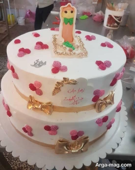 خلاقیت در تزیین کیک جشن عبادی