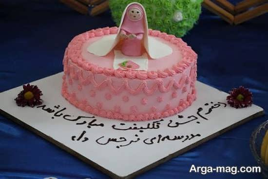 ایده تزیین زیبای کیک برای جشن بندگی