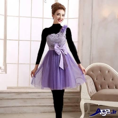 مدل لباس مجلسی پرنسسی برای خواهر عروس