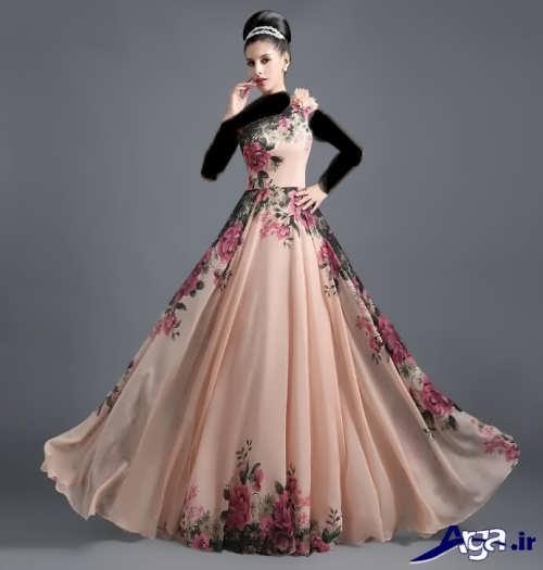 مدل لباس مجلسی طرحدار برای خواهر عروس