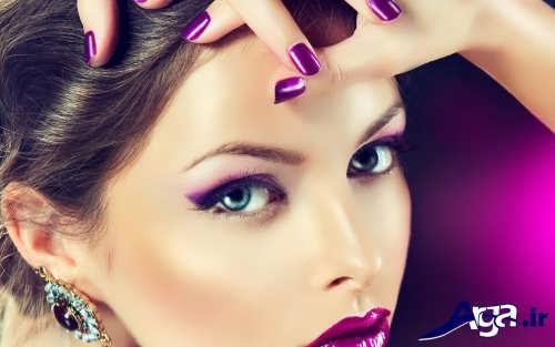 مدل سایه چشم زیبا و متفاوت زنانه