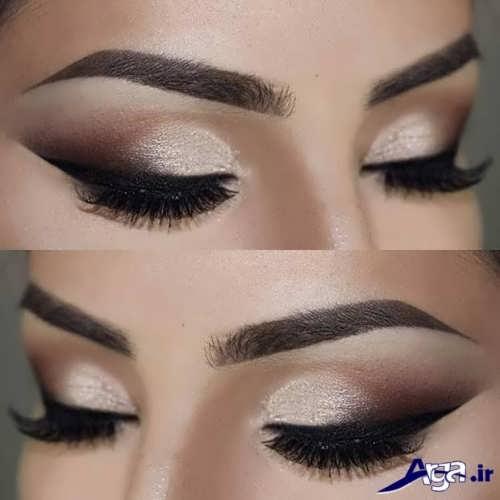 مدل آرایش چشم ساده زنانه
