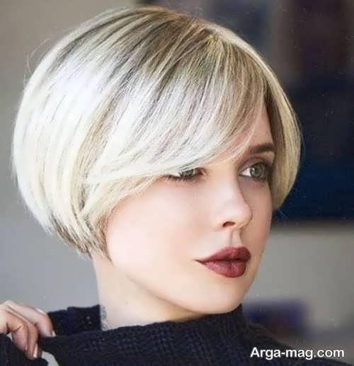 مدل مو قارچی زیبا