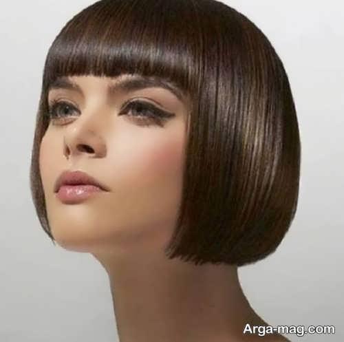 مدلی از موهای قارچی