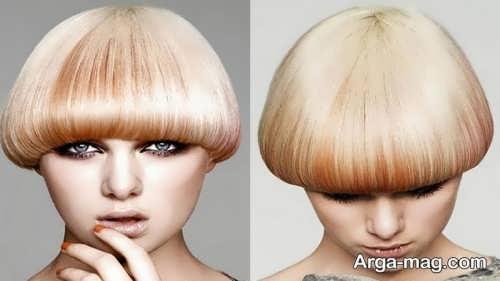 مدل مو قارچی دخترانه