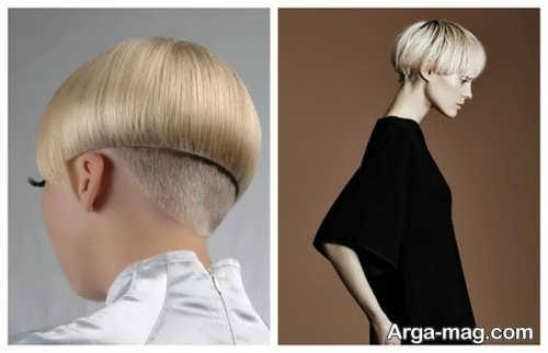 مدل موی قارچی کپ