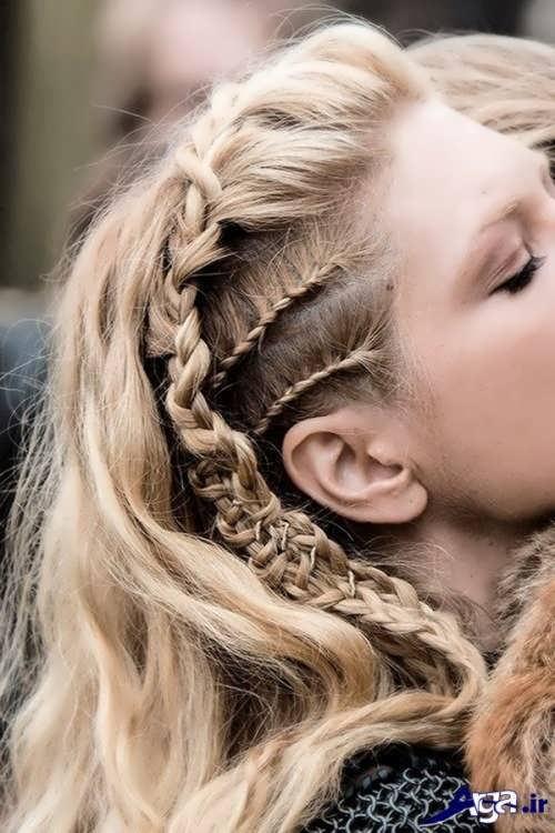 بافت موی کنار سر زیبا و شیک